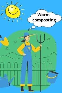 Worm composting blog